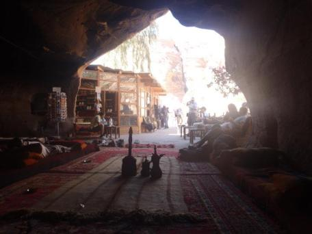 Tea in a cave