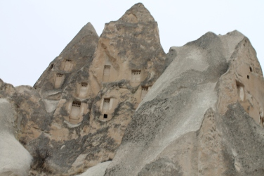 The caves, fairy chimneys, and rock formations that fill the valley are simply other worldly.