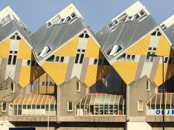 Piet Blom's Cube houses are a marvel of architecture