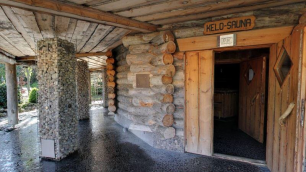 Elysium's Kelo Sauna