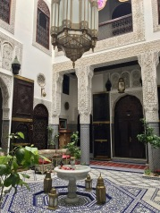 Another view of the courtyard